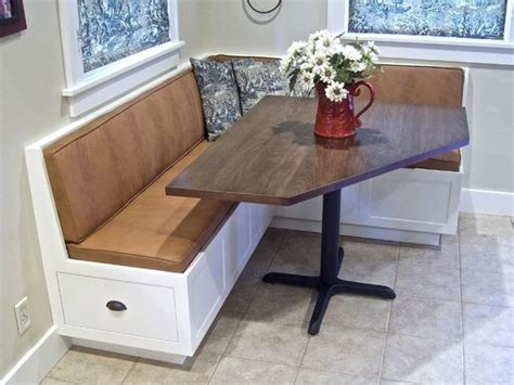 traditional modern corner kitchen table design