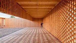 German Architecture Students Design Wooden Community