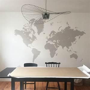 Decolle Papier Peint : diy 55 un panneau d coratif en papier peint pierre papier ciseaux ~ Dallasstarsshop.com Idées de Décoration
