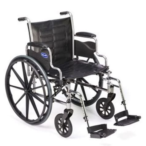 Invacare Transport Chair Weight by Invacare Lightweight Tracer Ex2 Wheelchair 20 Quot W Swingaway