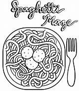 Coloring Spaghetti Espaguetis Meatballs Colorear Dibujos Dozens Children Sheet Drawing Coloringpagesfortoddlers Platos Guardado Desde Resultado Imagen sketch template