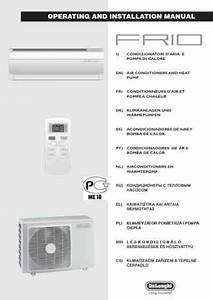 Delonghi Frio9 Air Conditioner Download Manual For Free