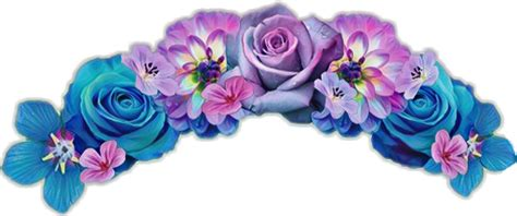 flowercrown flower sticker flowercrownsticker flowersti