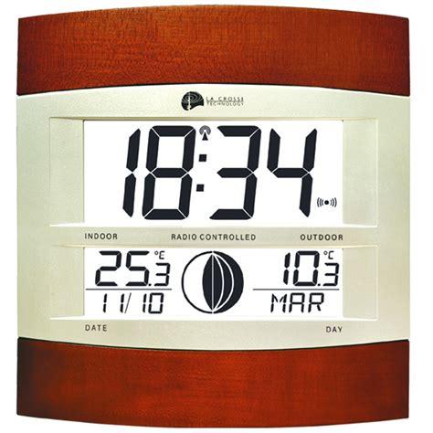horloge murale digitale radio pilotee horloge digitale radio pilot 233 e moonlight pendule 224 poser 1001 pendules