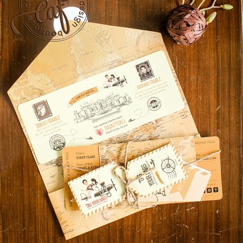 20+ Unique & Creative Wedding Invitation Ideas for your