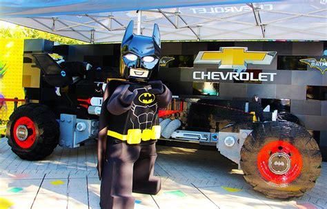 Lifesize Lego Batmobile On Display At Legoland In