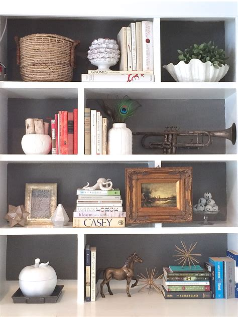 Painted Bookcase by If You Give A Fifteen Minutes Lemonade