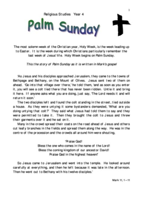 re teaching ideas 442 | palmsunday 0