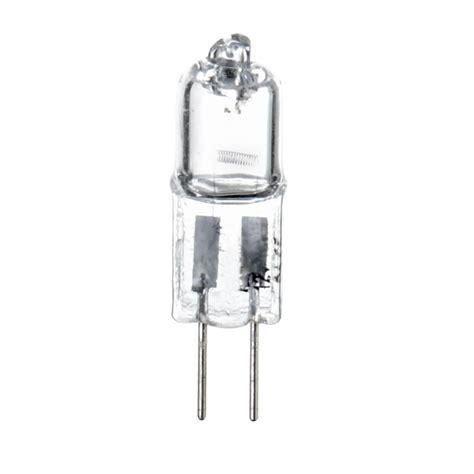 20 watt g4 halogen capsule light bulb clear from litecraft
