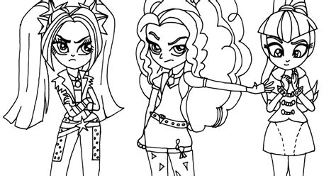 printable   pony coloring pages villain    pony coloring page