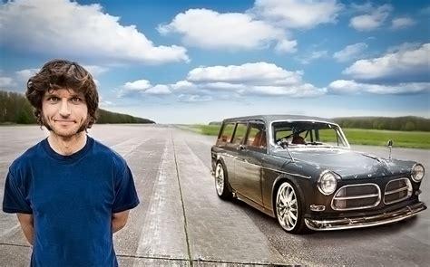 guy martin   volvo  fastest car  britain