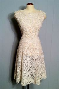 reserved vintage romance off white lace dress wedding gown With vintage off white wedding dresses