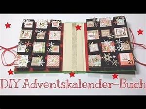 Buch Selber Basteln : diy adventskalender buch tutorial deutsch youtube ~ Orissabook.com Haus und Dekorationen