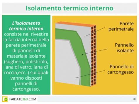 Coibentazione Interna Materiali by Isolamento Termico Pareti Materiali Costi E Tecniche Fai