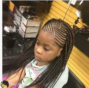 Kids Cornrows with single plait at the back | braids ...
