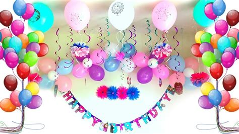 Party Decoration Ideas  Birthday Party Decorations