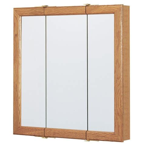 24 x 24 medicine cabinet bay 24 in w x 24 in h framed surface mount bathroom