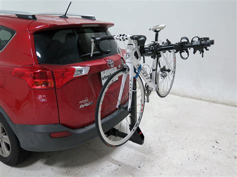 toyota rav4 bike rack 2015 toyota rav4 curt premium 4 bike rack for 2 quot hitches