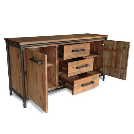 sideboard industrial look industrial look sideboard town and countrytown and country