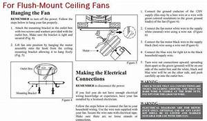 How To Install A Flush Mount Ceiling Fan