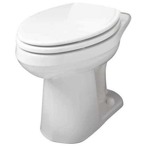 Gerber 21377 Toilet Bowl, Pressure Assist, Floor, White