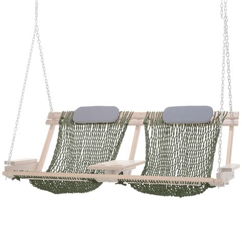 Hammock Rope Replacement by Deluxe Bent Oak Chair Swing Seat