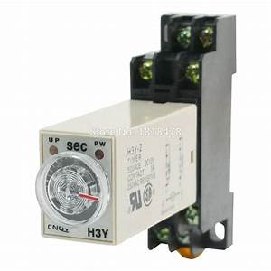 Time Delay Relay Solid State Timer 0 60s Dpdt W Socket H3y