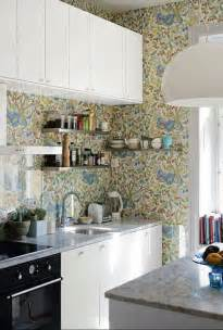 kitchen borders ideas 35 ideas of creative wallpapers on a kitchen shelterness