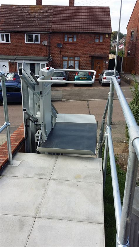 outdoor wheelchair lift 1st step mobility