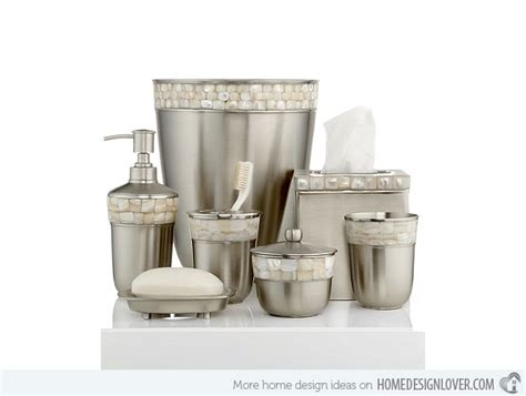 designer bathroom sets 15 trendy modern bathroom accessories set home design lover
