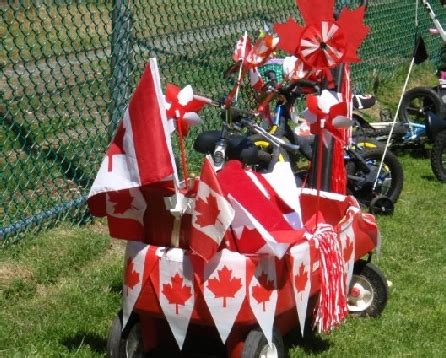 Parade Float Decorations Canada by Neighbourhood Canada Day Parade The New Canadians