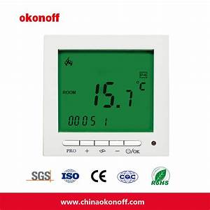 China Room Electrical Floor Heating Thermostat  S603pe