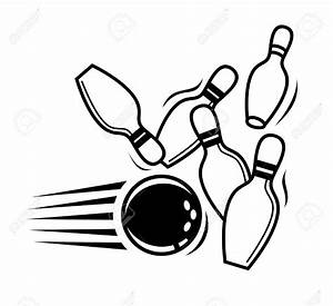 Bowling clipart icon - Pencil and in color bowling clipart ...