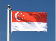 Günstige Singapur Flagge 60 x 90 cm FlaggenPlatzde