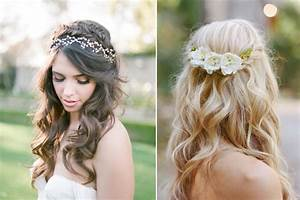 10 of the best half up half down wedding hairstyles with braids