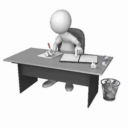 Writing Desk Figure Clr Drafts Anim Write