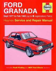 Ford Granada Petrol 1977 1985 Haynes Service Repair Manual