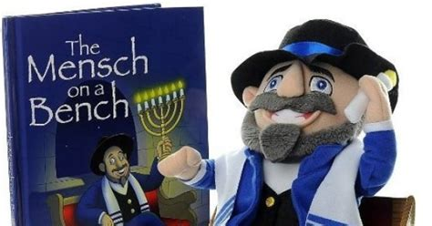 mench on the bench mensch on a bench is hanukkah s answer to on the shelf
