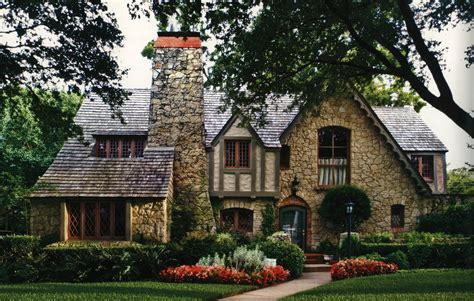 revival home tudor revival cottage house plans