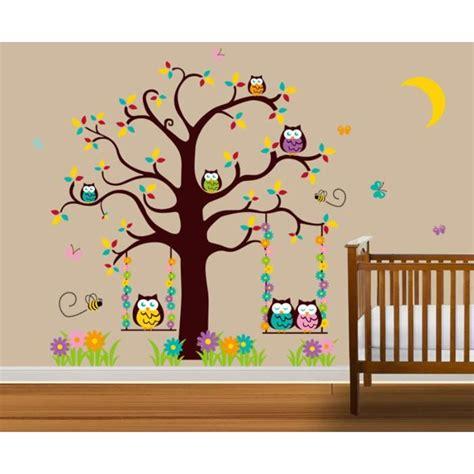 stickers arbre chambre fille stickers arbres chambre bb sticker mural