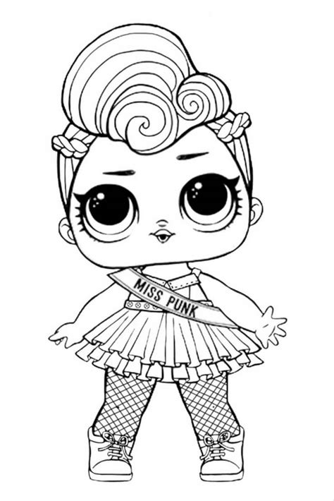 Coloring Lol Dolls by 40 Free Printable Lol Dolls Coloring Pages