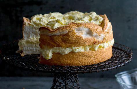 lemon angel food cake  preserved lemon curd recipe