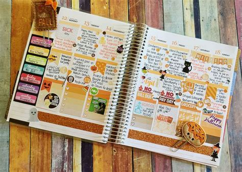 life planner love october  vertical layout document