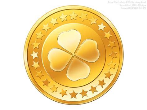 Psd Gold Coin Icon Psd File