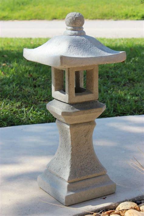 concrete japanese lantern  Google Search Gardenesque