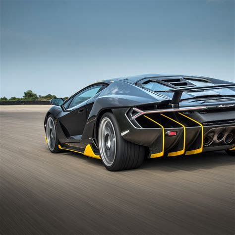 Wallpaper Lamborghini Centenario, 4k, Rear View