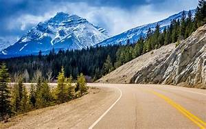 Nature, Mountain, Canada, Road, Wallpapers, Hd, Desktop, And