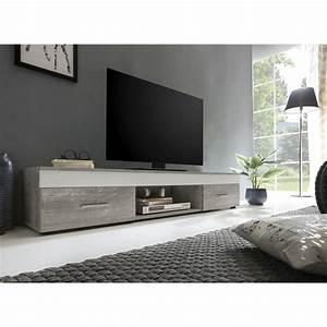 Lowboard Mit Schubladen : multimedia lowboard tv lowboard mit schubladen 160cm breit beton weiss neu ovp ebay ~ Watch28wear.com Haus und Dekorationen