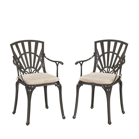 vifah renaissance patio dining chair v1609 the home depot