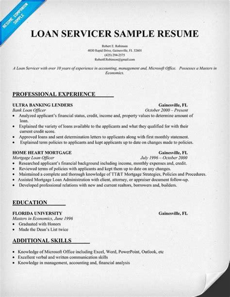 Hedge Fund Resume Objective by Loan Servicer Resume Sle Carol Sand Resume